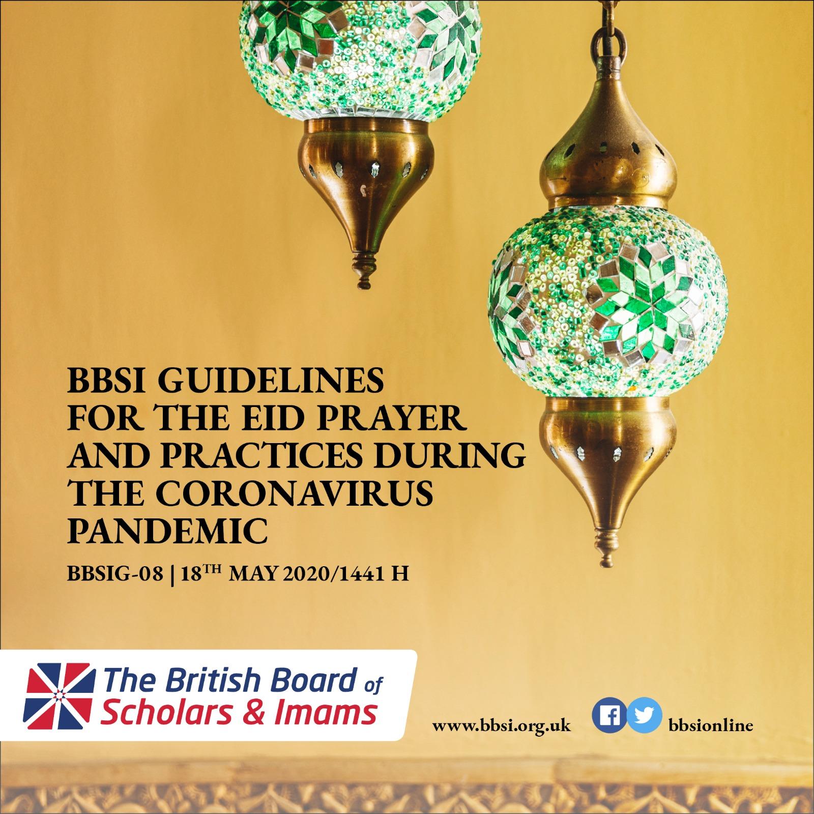 BBSI Guidelines for the Eid Prayer