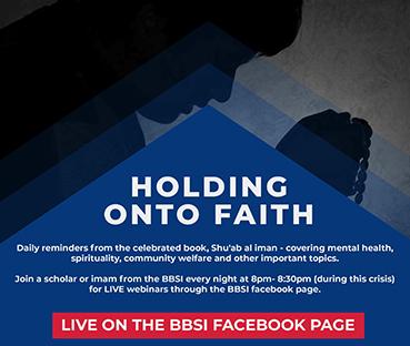 HOLDING ONTO FAITH