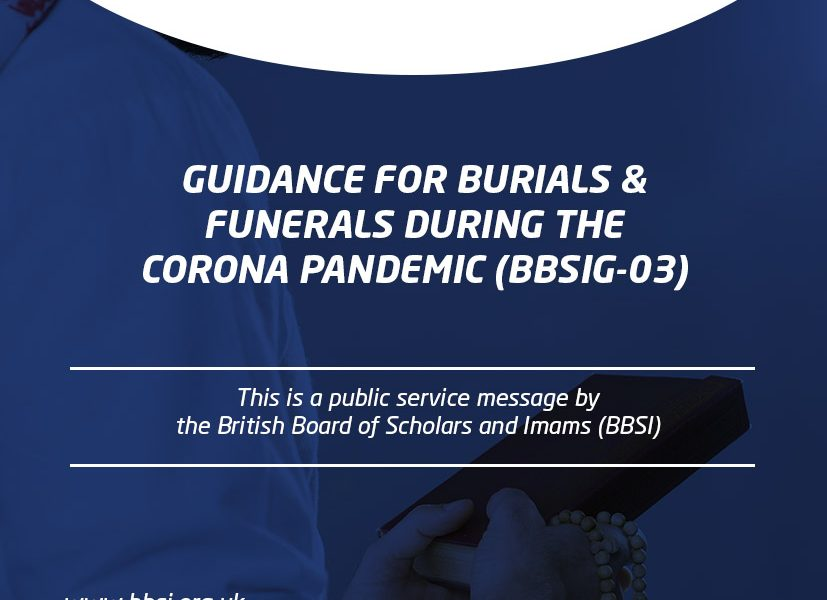 Guidance for Burials & Funerals during the Corona Pandemic