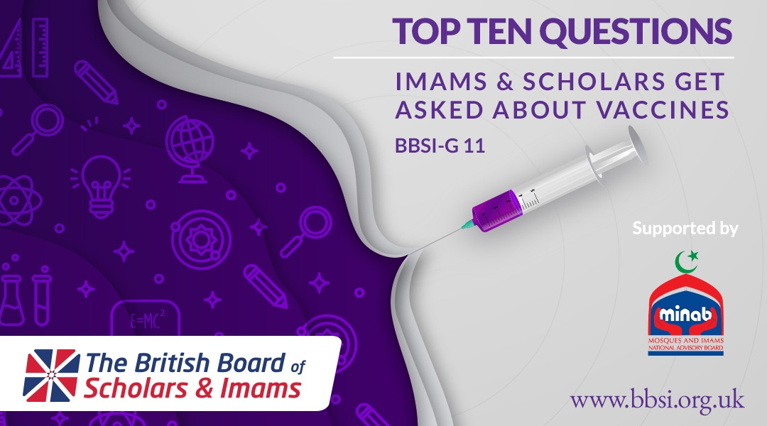 Top Ten Questions Imams & Scholars Get Asked About Vaccines