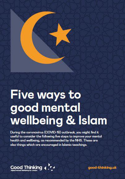 Celebrating Mental Health Awareness Week with Five ways to Wellbeing and Islam