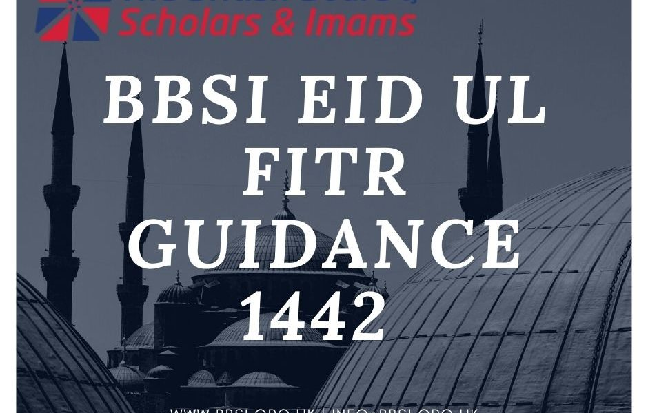 BBSI Eid ul Fitr Guidance – 1442